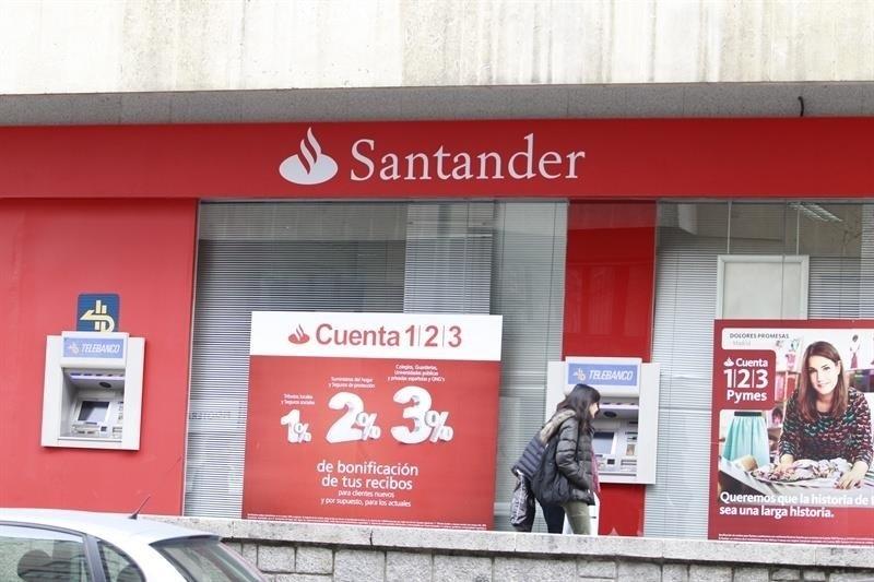 Santander supera a Inditex en capitalización por primera vez desde julio de 2015
