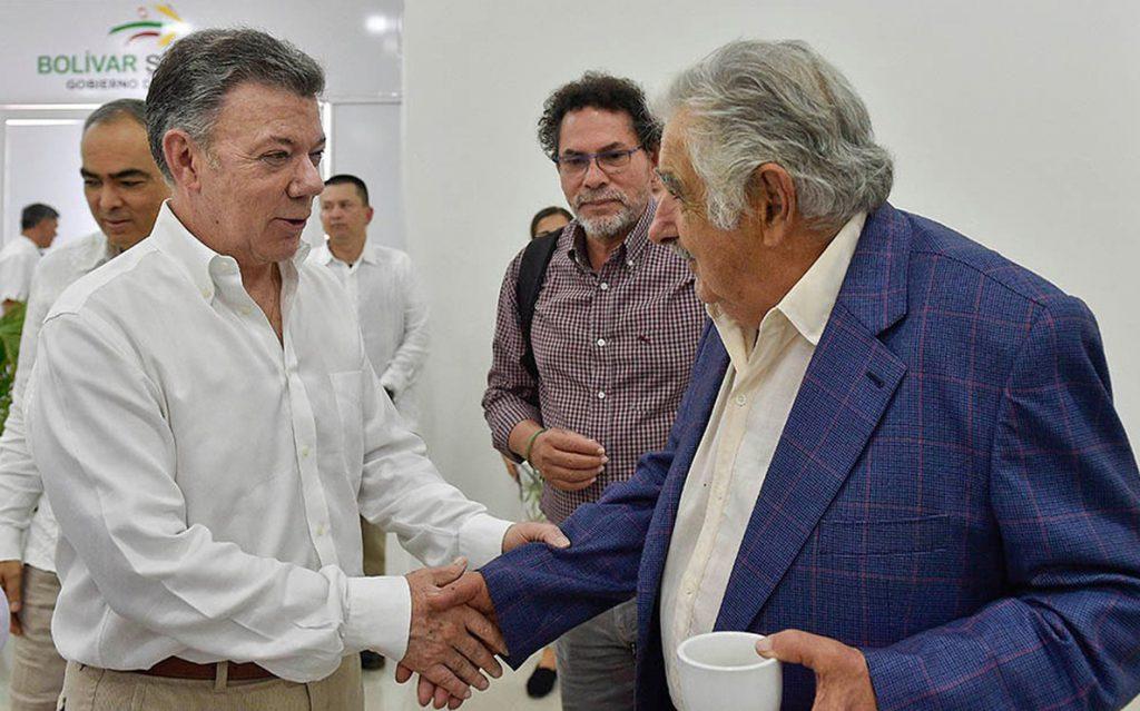 Santos valora los avances en la implementación del acuerdo de paz en Colombia