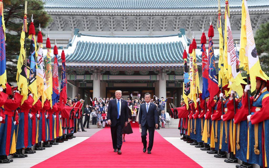 Seúl y Washington acuerdan retrasar sus maniobras por los JJOO de Invierno