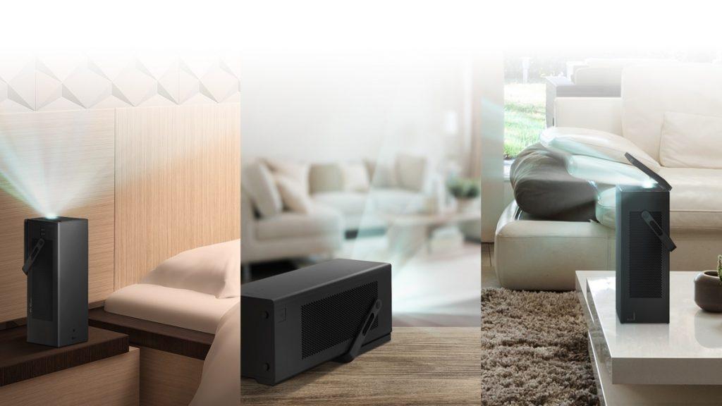 LG presenta su primer proyector 4K, con formato portátil compacto y capaz de generar pantallas de 150 pulgadas