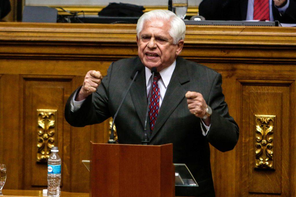 El opositor Omar Barboza es elegido nuevo presidente del Parlamento venezolano
