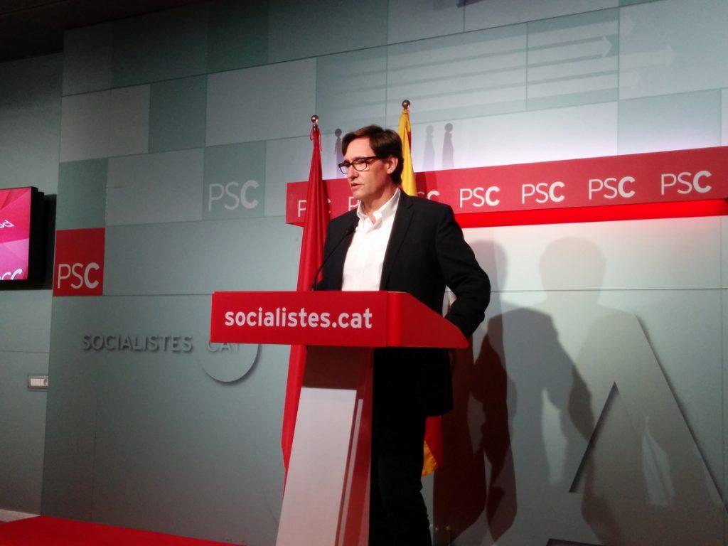El PSC respeta al Supremo pero insiste en ver «desproporcionada» la cárcel preventiva
