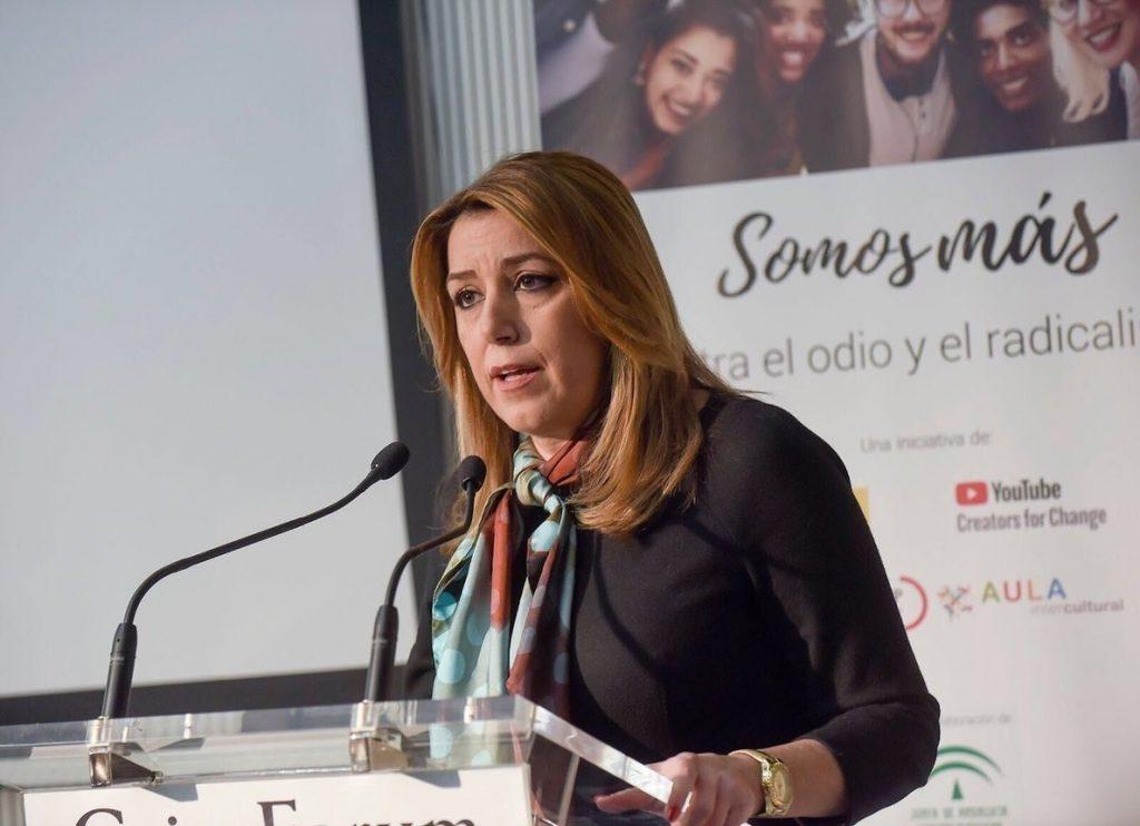 Susana Díaz avisa de que prorrogar el sistema de financiación «podría poner en peligro la recuperación económica»