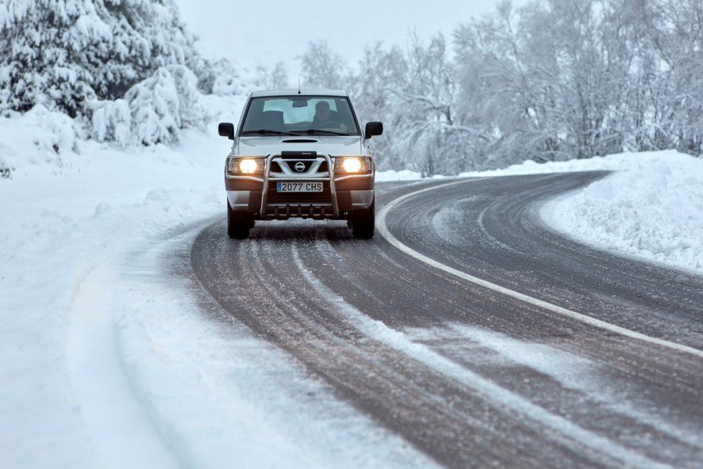 Tráfico recomienda planificar el viaje de vuelta de Navidad por las nevadas
