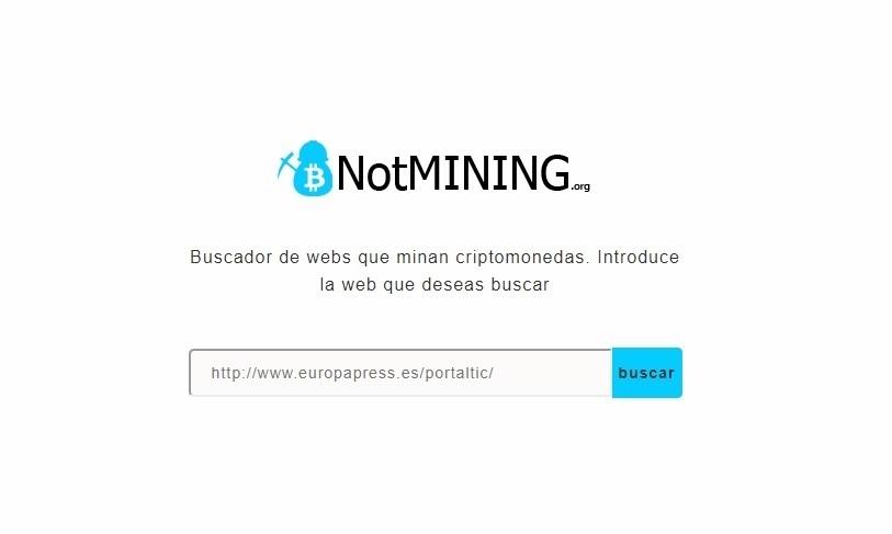 Dos estudiantes españoles crean un buscador para detectar webs que minan criptomonedas