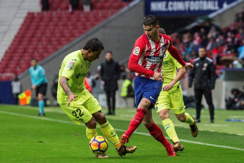 Correa pone por delante al Atlético (1-0) al descanso