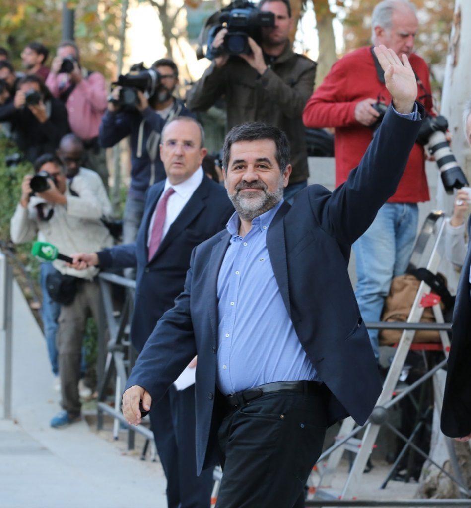 Jordi Sànchez pide a Rajoy que facilite volver a Puigdemont al que ve como «único candidato»