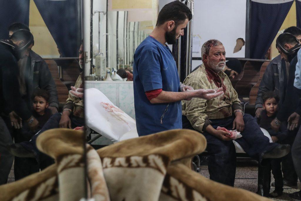Al menos 10 civiles muertos y 45 heridos por bombardeos cerca de Damasco