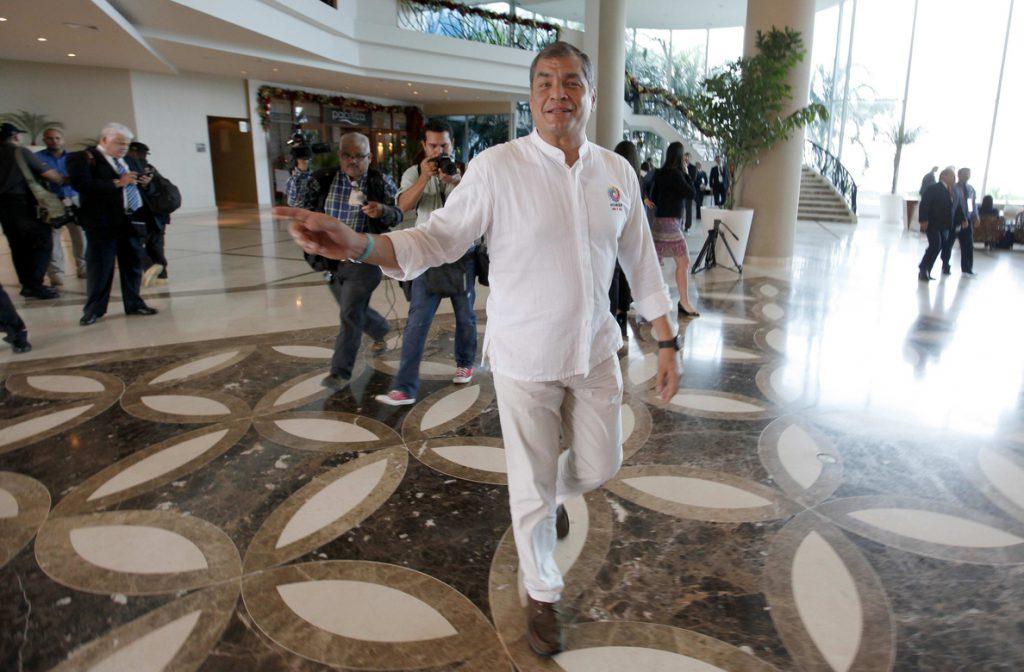 Correa lidera la campaña por el 'no' en el referéndum
