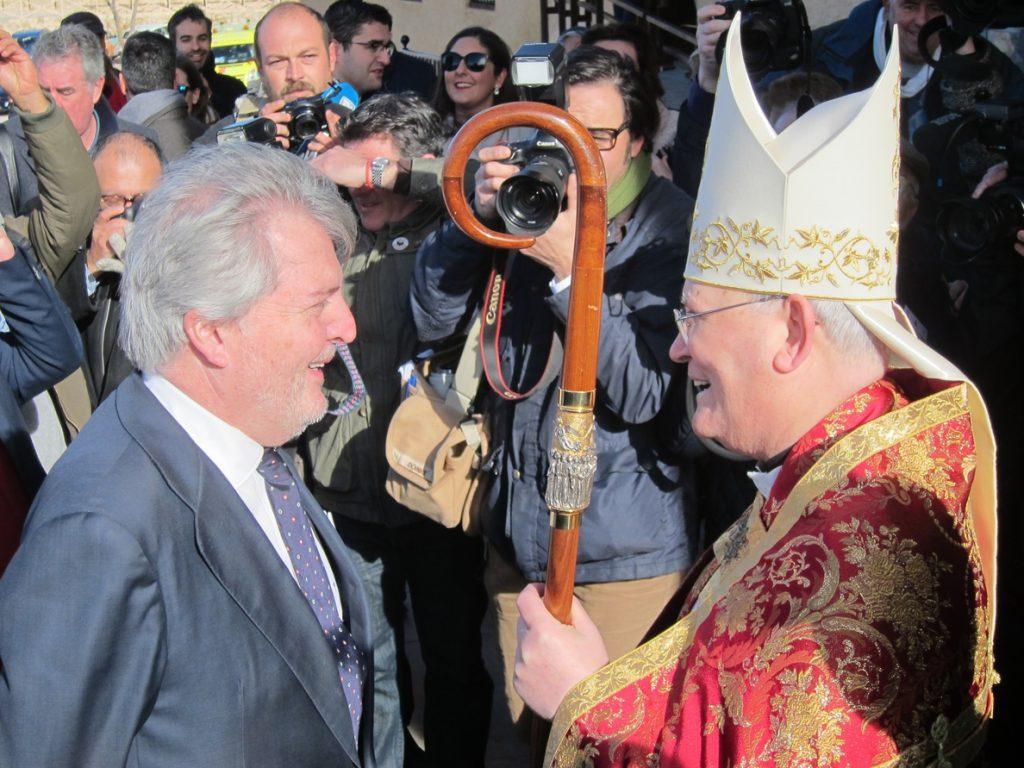 Méndez de Vigo clausura el Año Jubilar de Caravaca, que ha sido «un éxito de presencia de peregrinos y repercusión»