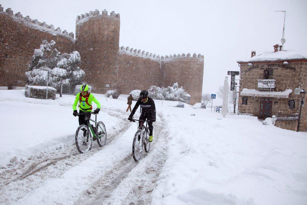 El temporal deja a los vecinos de Ayllón (Segovia) nueve horas sin electricidad