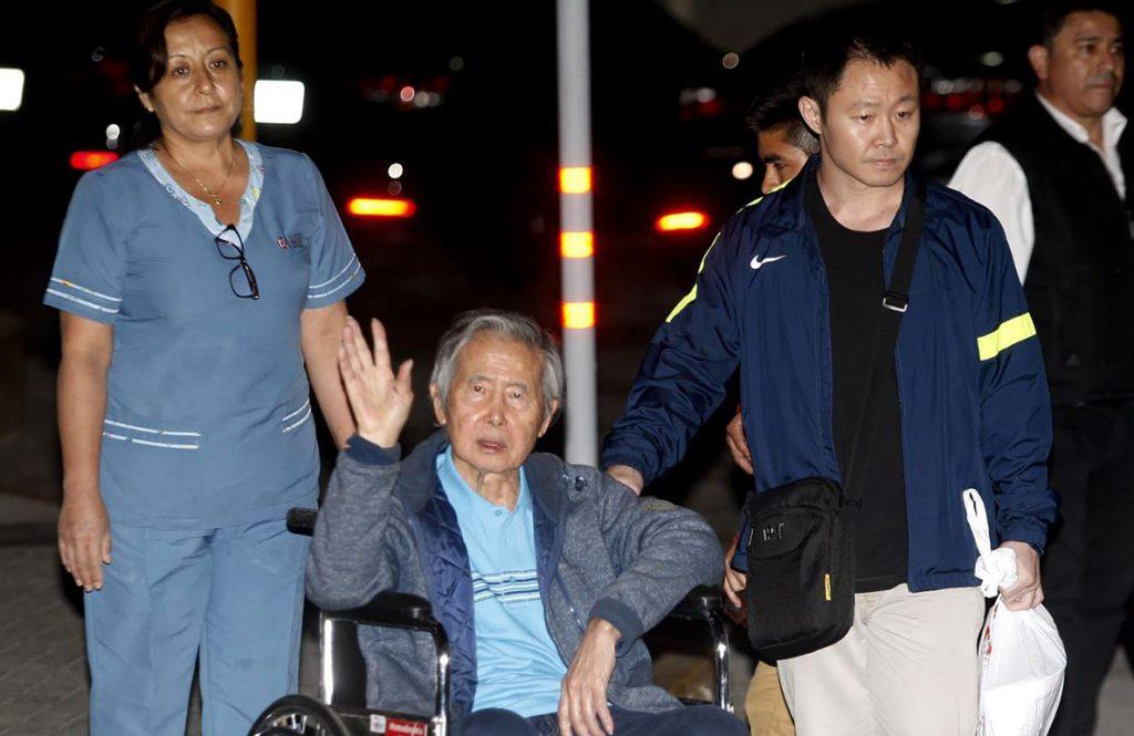 Fujimori anhela un país «sin rencores» tras las protestas