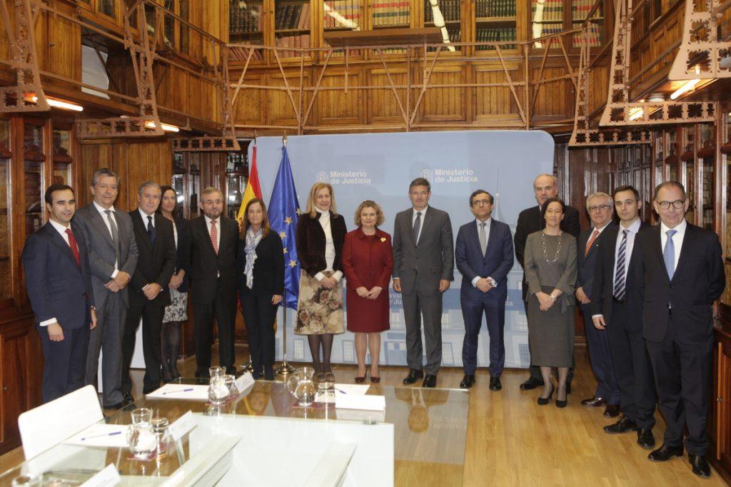 Catalá reconoce la «función esencial» de los registradores en la seguridad jurídica preventiva
