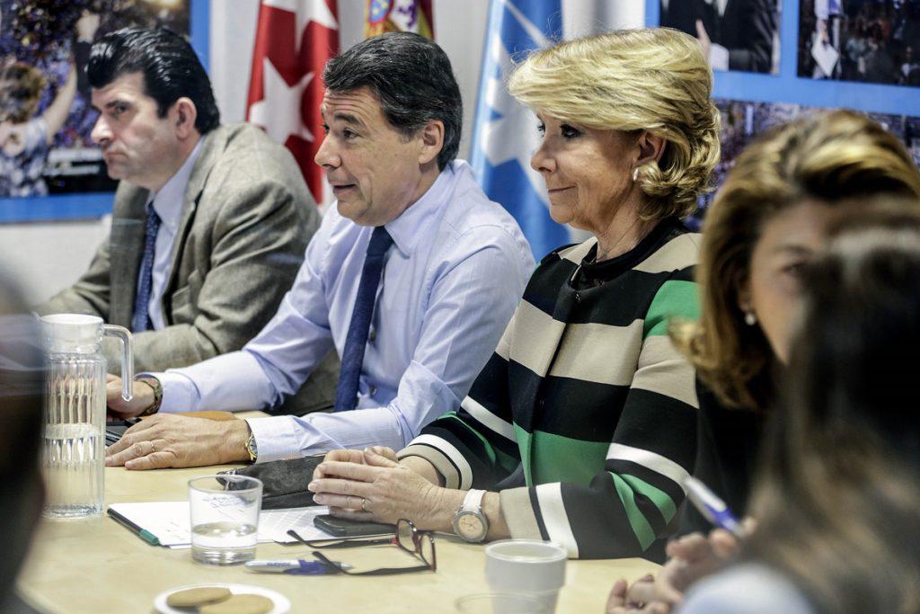Podemos pide que Aguirre, González y Moix comparezcan en la comisión sobre corrupción