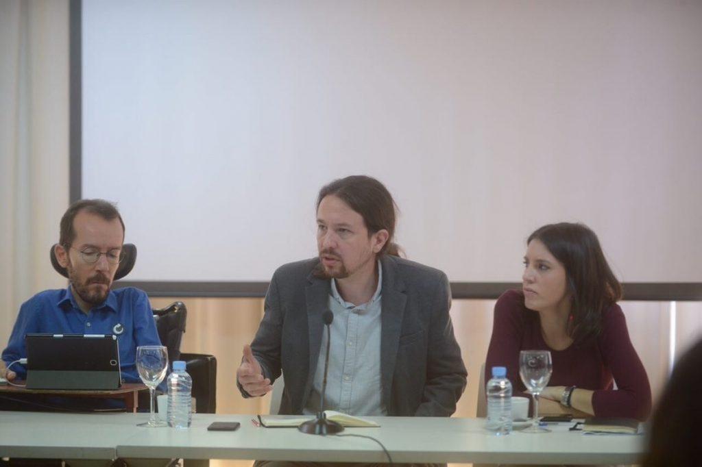 Podemos celebra este miércoles la primera reunión de su Ejecutiva desde las elecciones catalanas del 21D