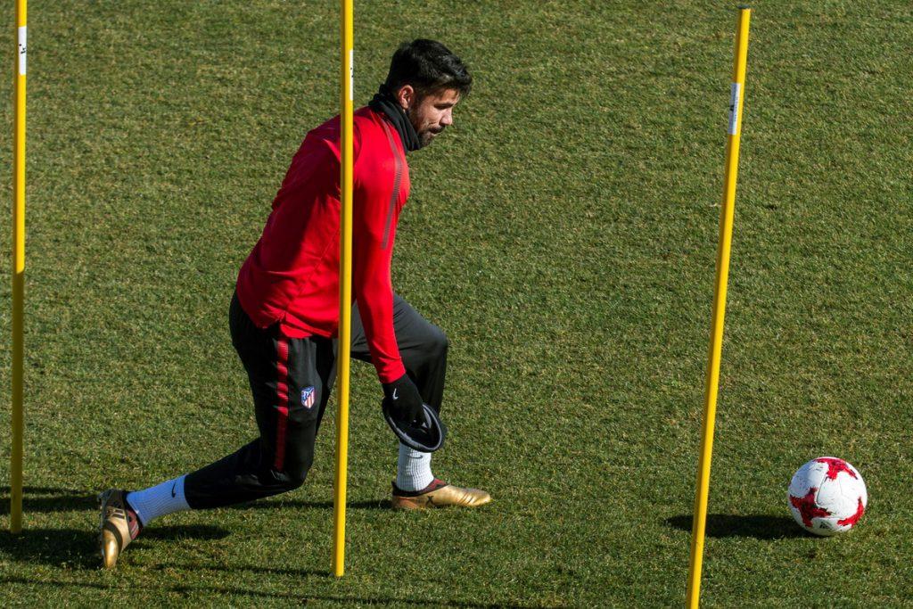 Costa, Torres, Vitolo y Carrasco, en el once del Atlético