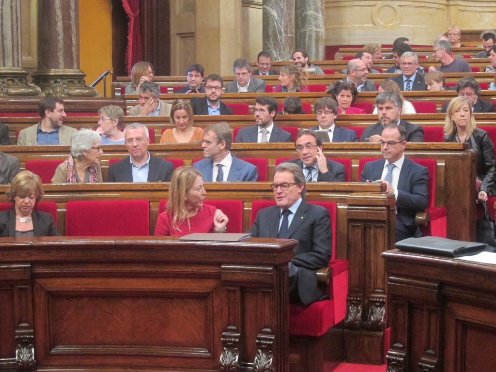 Neus Munté sustituirá a Artur Mas como presidenta del PDeCAT