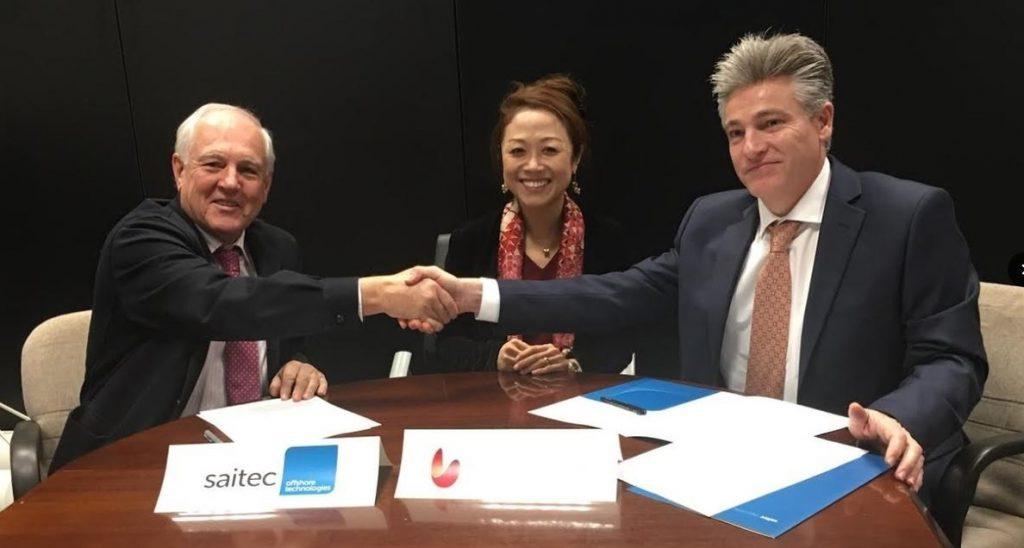 Saitec y Univergy se alían para el desarrollo de proyectos eólicos marinos en Japón