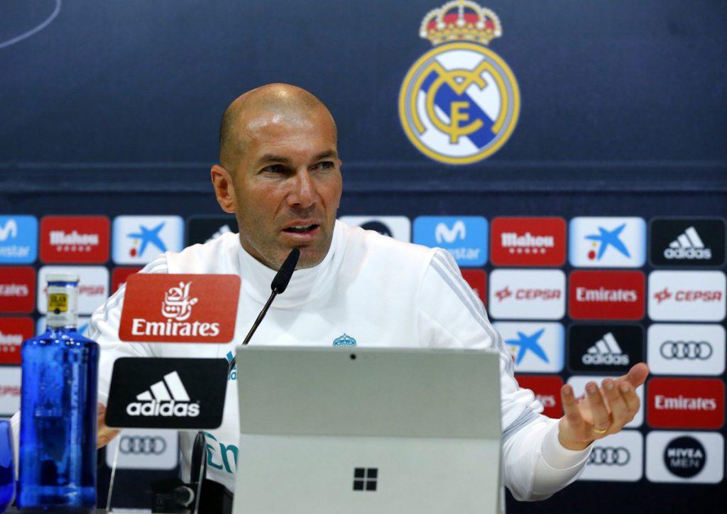 Zidane: «La culpa es de todos, yo el primero»