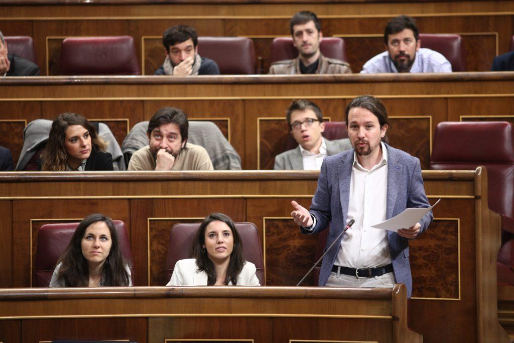El PSOE responde a Podemos que es Pablo Iglesias el único líder desaparecido desde antes de las Navidades