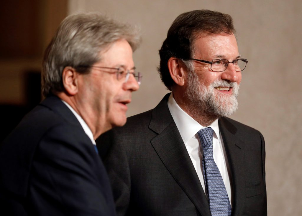 Rajoy llegó a Roma para participar en la IV cumbre de países del sur de la UE