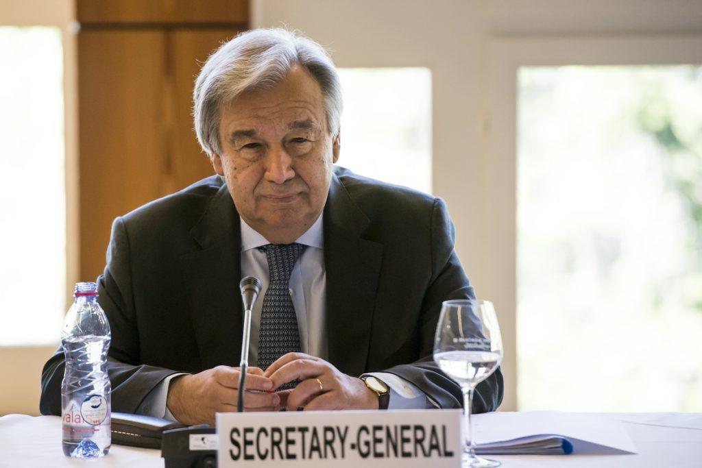 El secretario general de la ONU viajará a Colombia para apoyar el proceso de paz