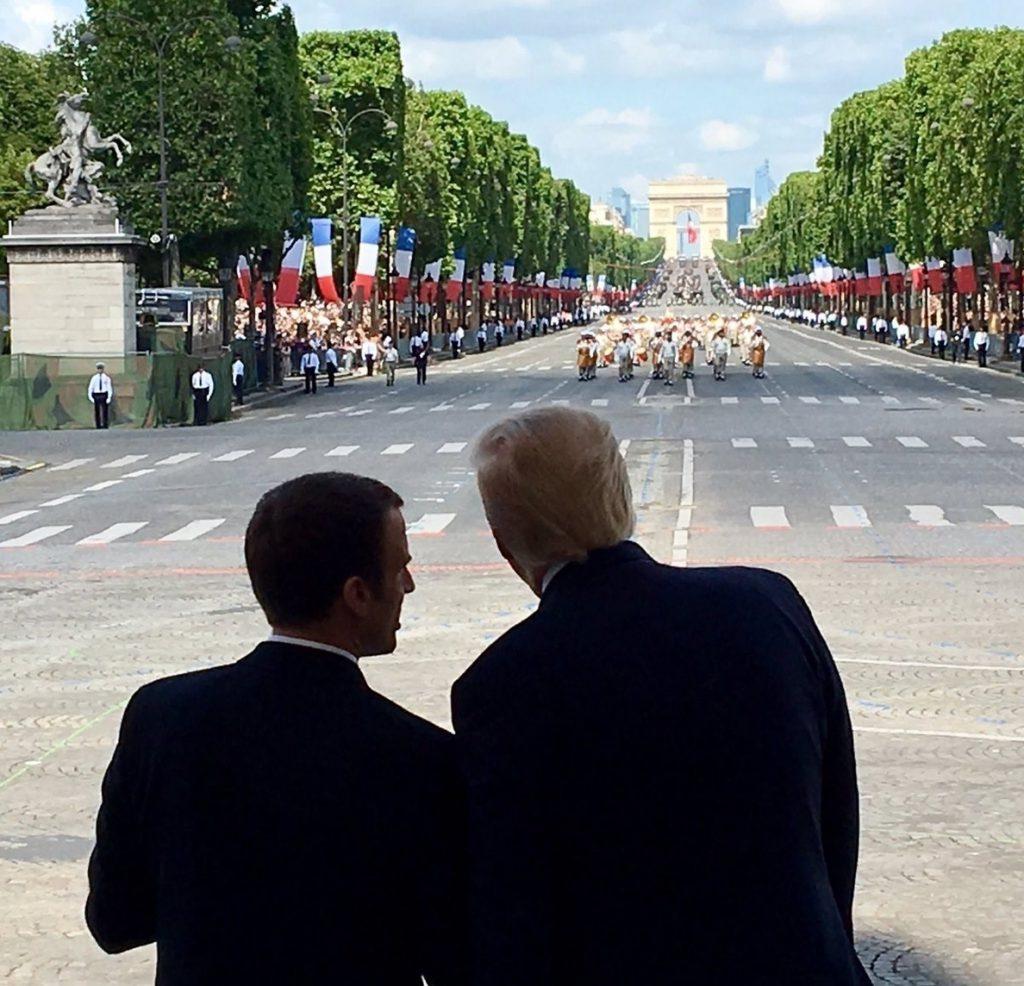 Macron recalca a Trump la importancia de respetar el acuerdo nuclear con Irán