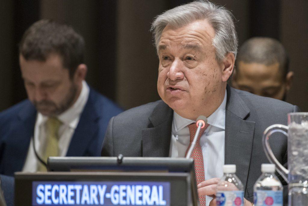 Guterres mantiene su confianza en la paz en Colombia pese a las dificultades