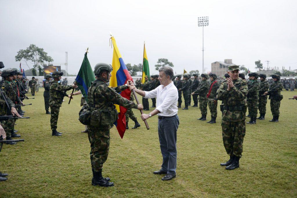 Santos crea una fuerza especial para combatir a los grupos que luchan por reemplazar a las FARC en Nariño