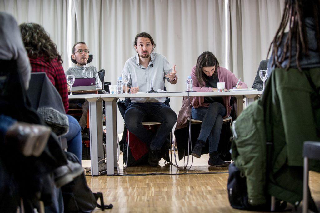 Pablo Iglesias pide a IU preparar las locales de 2019 hablando de propuestas y no de cuestiones internas