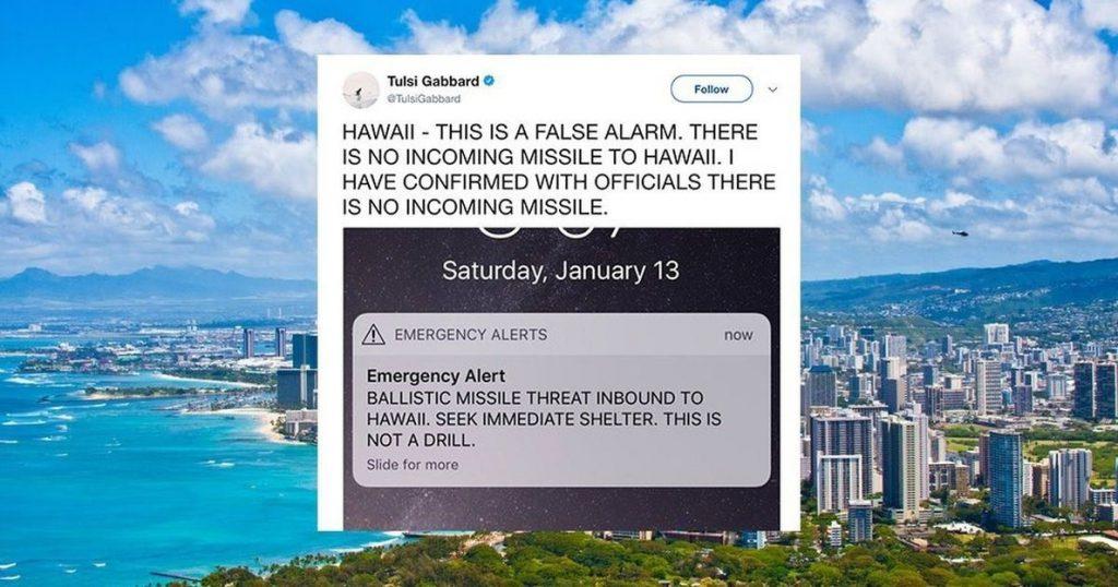 Una falsa alarma de misil difundida por las autoridades causa alarma en Hawái