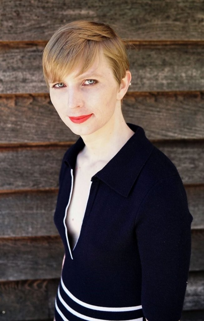 Chelsea Manning presenta su candidatura al Senado de Estados Unidos por el estado de Maryland