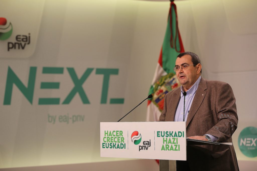 PNV cree que una investidura no presencial de Puigdemont es «un dislate» y «una falta de respeto» a las instituciones