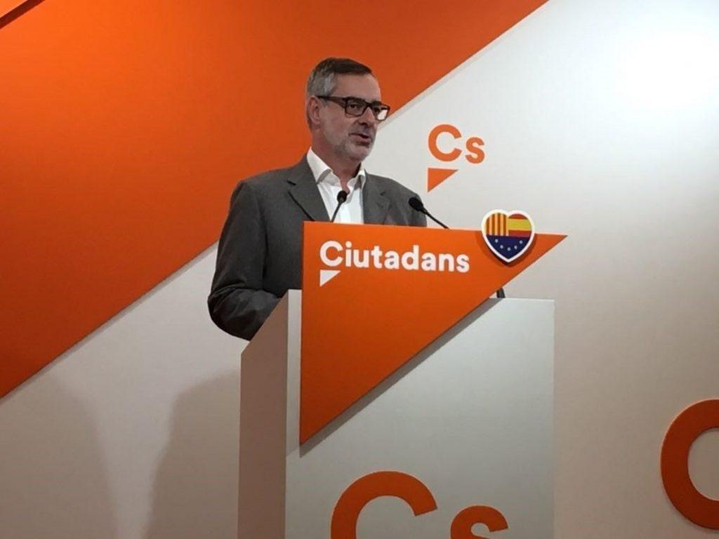 Ciudadanos niega al PP grupo propio en el Parlament porque los catalanes no deben pagarle lo que no ganó en las urnas