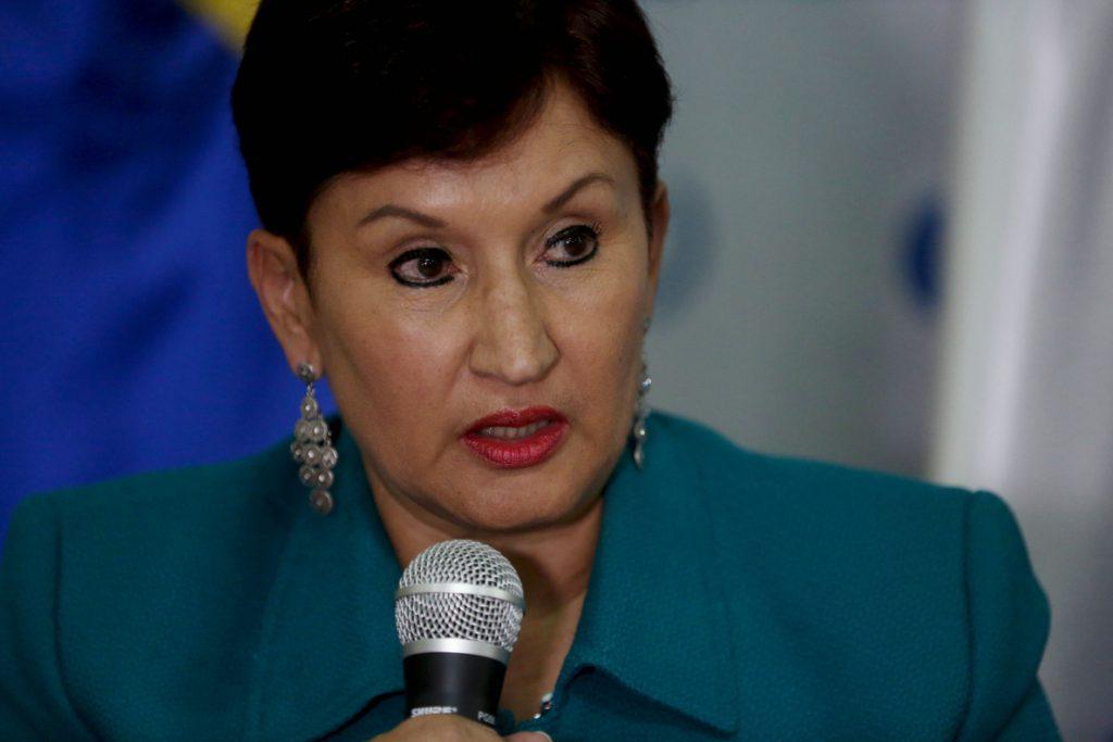 La fiscal general de Guatemala pide a Morales más «esfuerzo» contra la corrupción