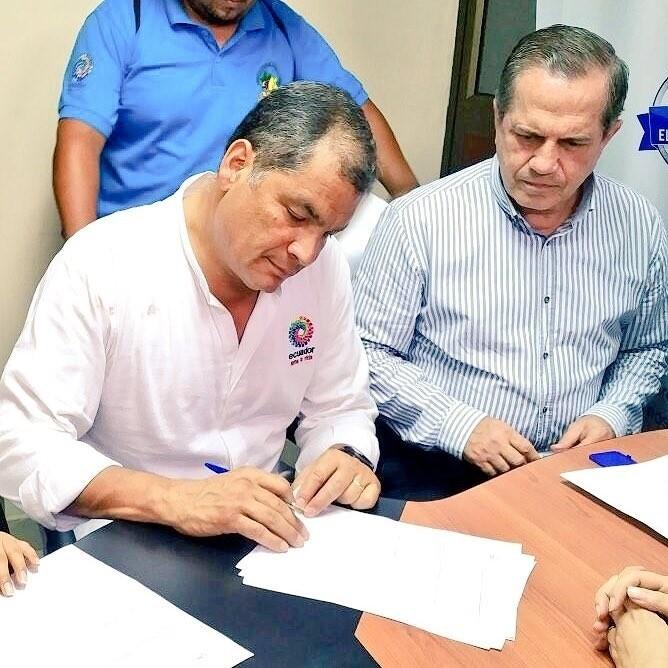 Correa abandona el partido que fundó por sus diferencias con Moreno y crea una nuevo