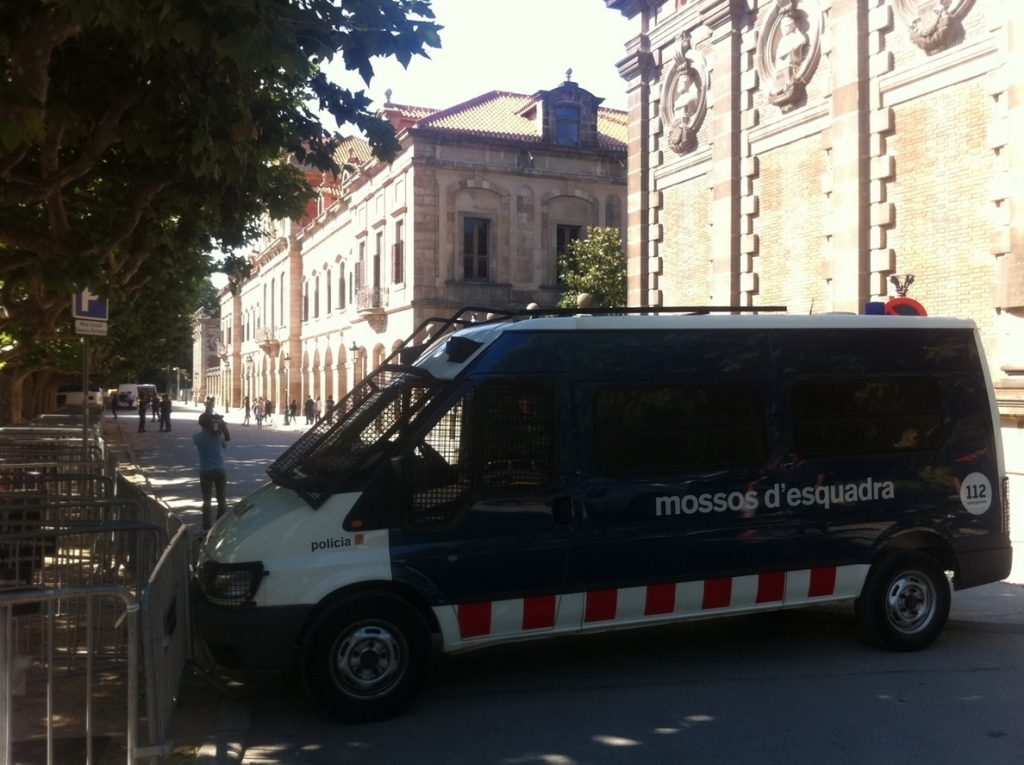 Los Mossos cerrarán el Parc de la Ciutadella por la constitución del Parlament