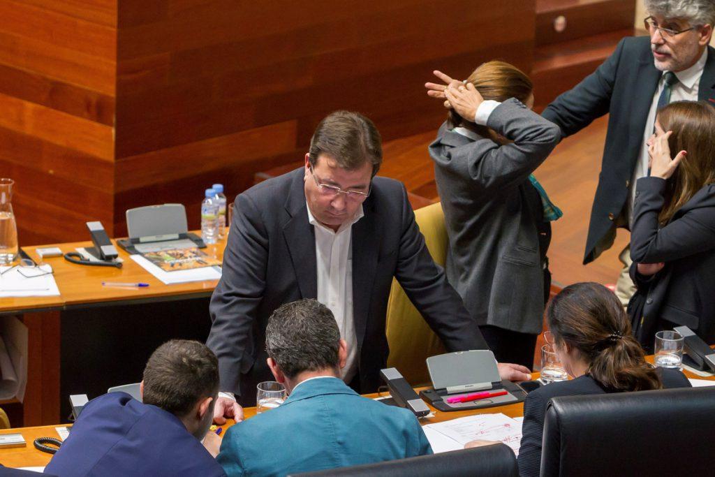 Vara y Podemos consuman su acercamiento con la aprobación de los presupuestos