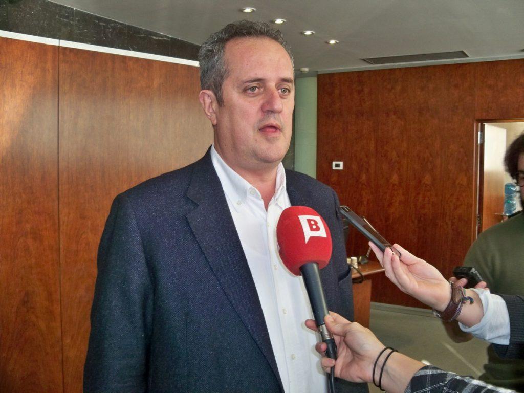 JxCat registra en el Parlament la renuncia de Forn como diputado