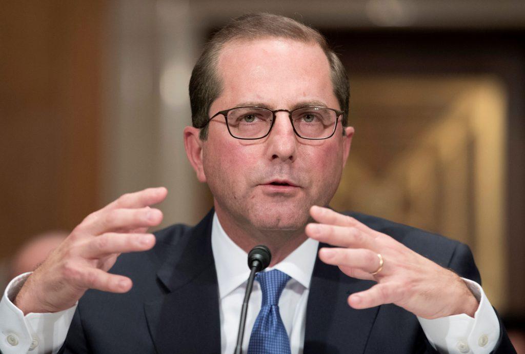 El Senado estadounidense confirma a Alex Azar como nuevo secretario de Salud