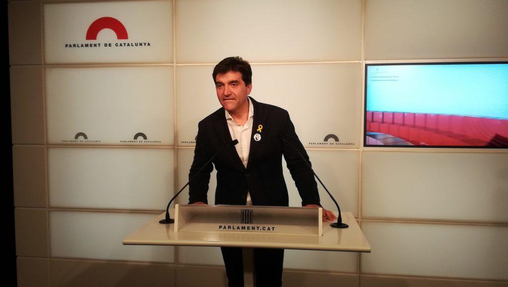 ERC lamenta la impugnación a Puigdemont y mantiene el apoyo para que sea presidente