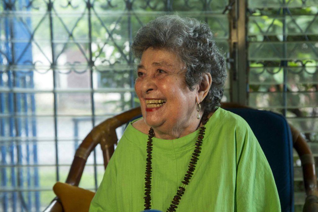 Fallece la poeta y Premio Reina Sofía Claribel Alegría, a los 93 años de edad