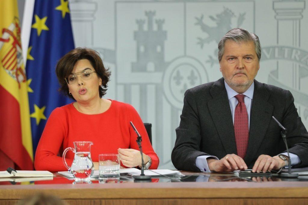 El Gobierno pide al TC que avise a Torrent y Mesa del Parlament de las consecuencias penales si insisten con Puigdemont