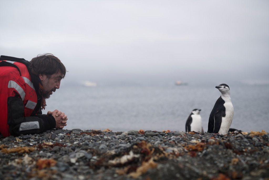 Javier Bardem está en la Antártida para pedir la protección del océano