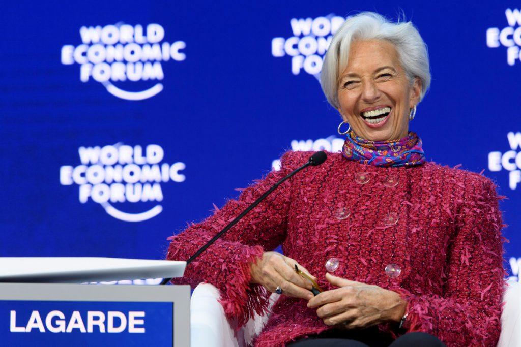 Lagarde dice que la economía vive un momento «dulce» pese a las desigualdades