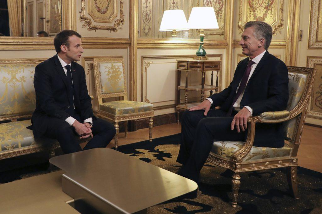 Macri constata las «líneas rojas» de Francia al acuerdo UE-Mercosur