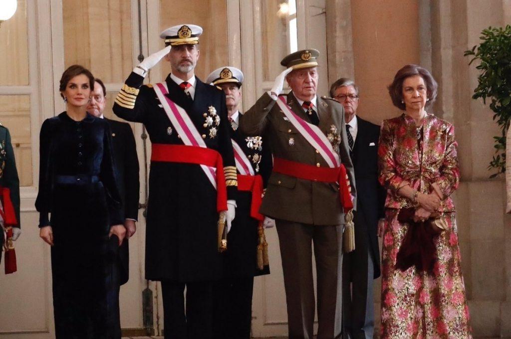 Los Reyes Juan Carlos y Sofía asistirán a la imposición del Toisón de Oro a la Princesa de Asturias