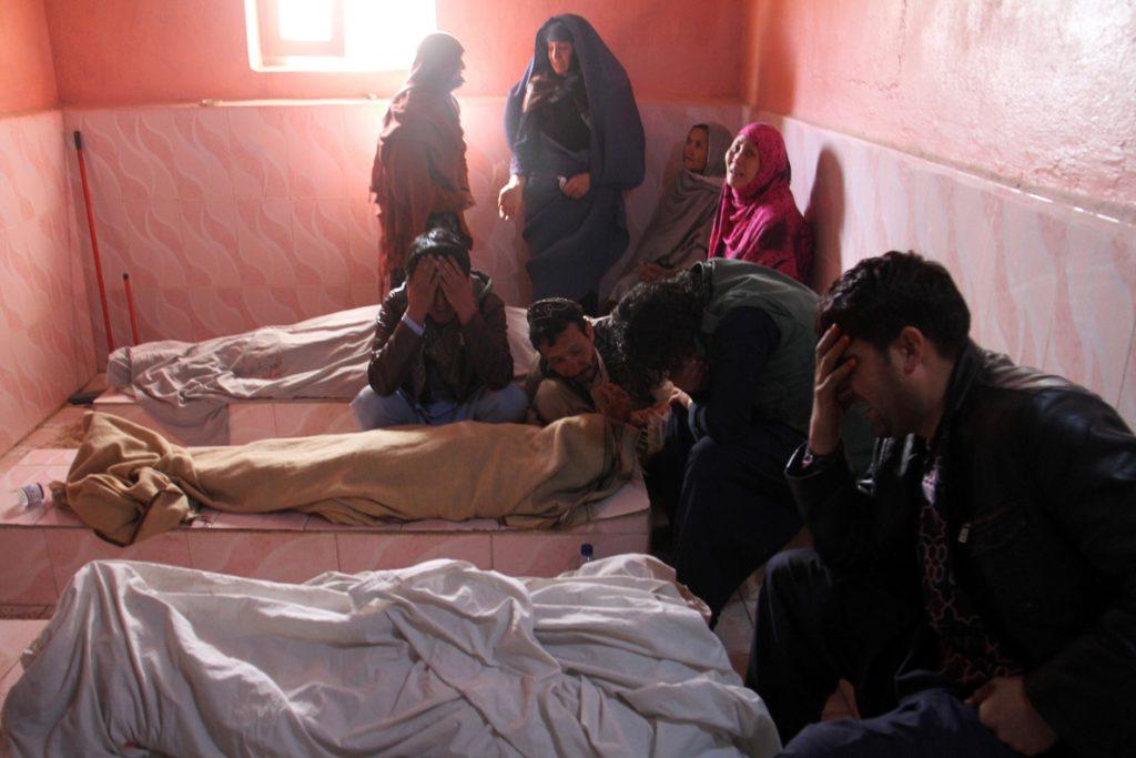 Siete miembros de una familia muertos por un proyectil en Afganistán