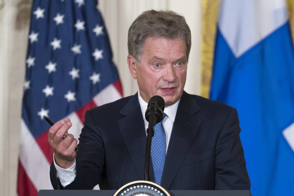 Finlandia celebra presidenciales con Niinistö como favorito para la reelección
