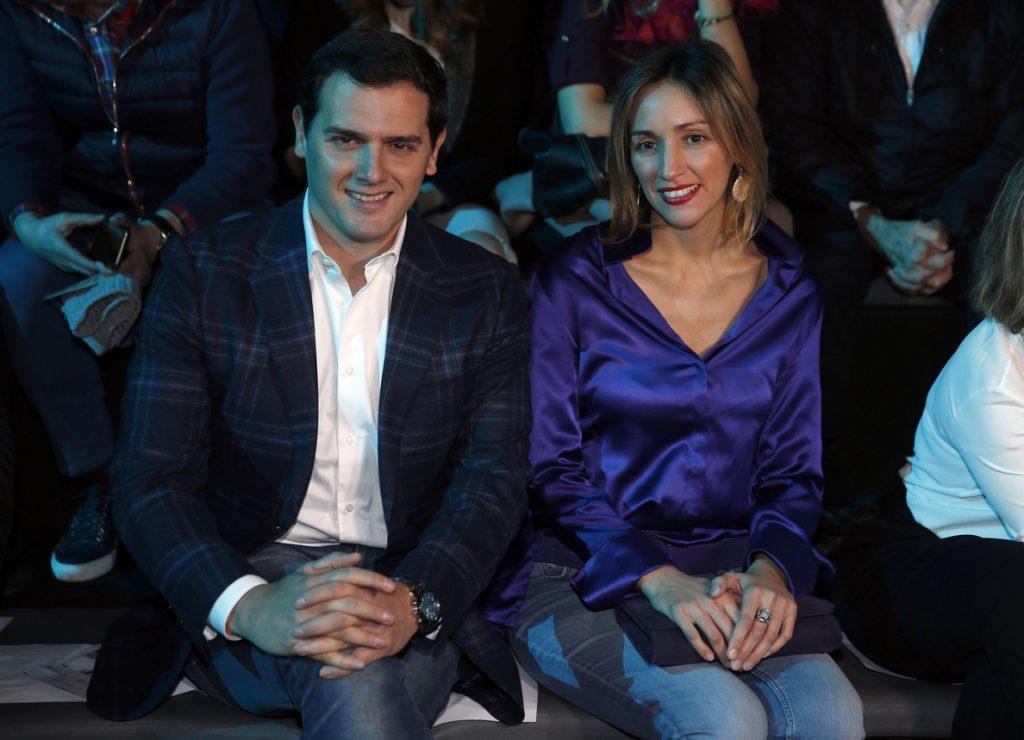 Rivera acude a la Madrid Fashion Week para apoyar la industria de la moda